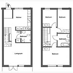 Two Story Apartment Floor Plans - TheApartment