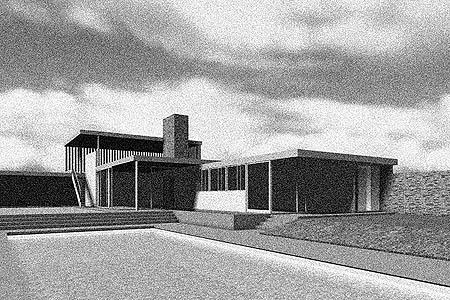 ArchitectureWeek Classic Home 070 20070822 – Richard Neutra Kaufmann House Floor Plans