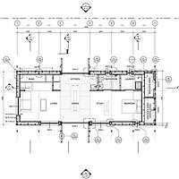 First Light Floor Plan Drawing Image Victoria University Of Wellington Team US Department Energy Solar Decathlon Extra Large
