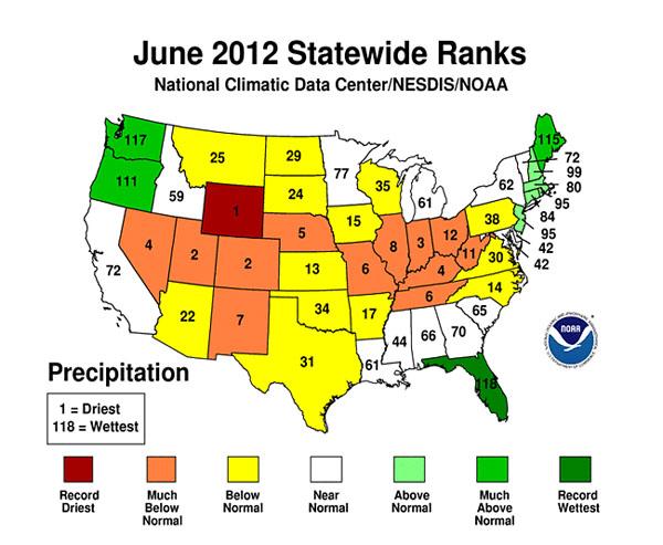 ArchWeek Green No - Us map potential natural disasters